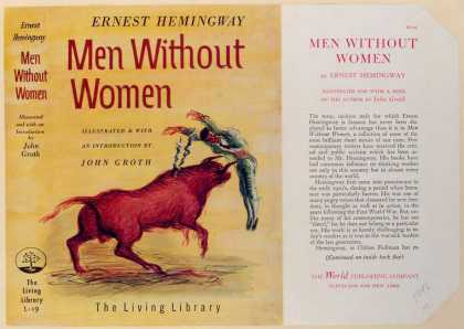 Dust Jackets - Men without women.