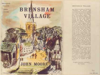 Dust Jackets - Brensham village.