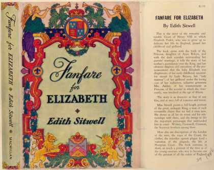 Dust Jackets - Fanfare for Elizabeth.