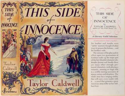 Dust Jackets - This side of innocence.