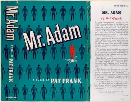 Dust Jackets - Mr. Adam : a novel.