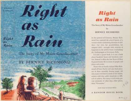 Dust Jackets - Right as rain : the story