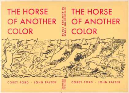 Dust Jackets - The horse of another colo