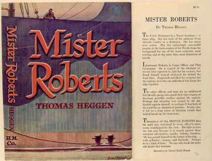 Dust Jackets - Mister Roberts.