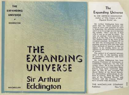 Dust Jackets - The expanding universe.
