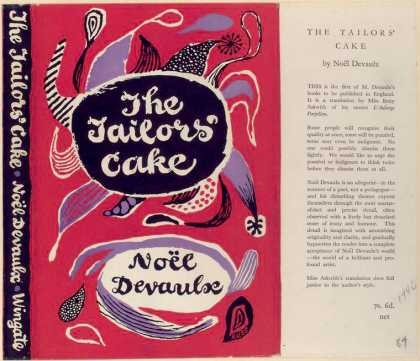 Dust Jackets - The Tailors' cake.
