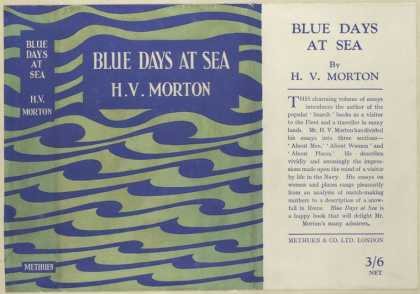 Dust Jackets - Blue days at sea.