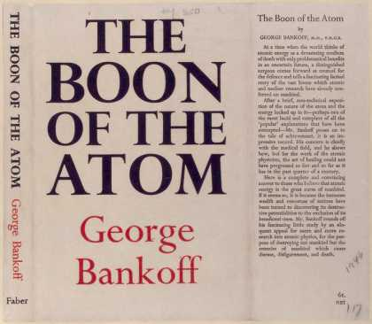 Dust Jackets - The boon of the atom.