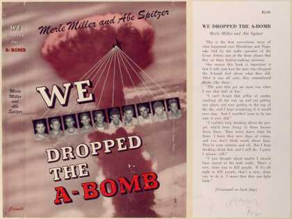 Dust Jackets - We dropped the A-bomb.