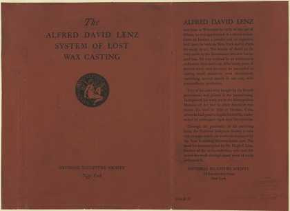 Dust Jackets - The Alfred David Lenz sys