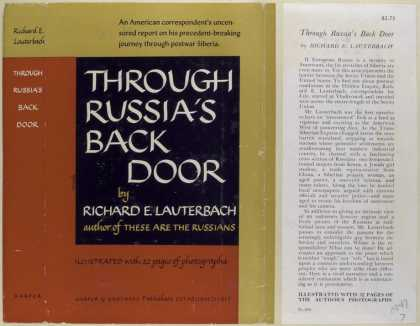 Dust Jackets - Through Russia's Back Doo
