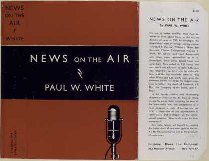 Dust Jackets - News on the Air, by Paul