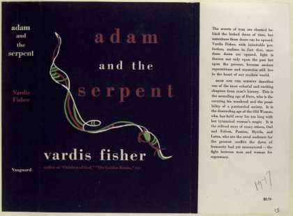 Dust Jackets - Adam and the Serpent, by