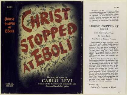 Dust Jackets - Christ stopped at Eboli -