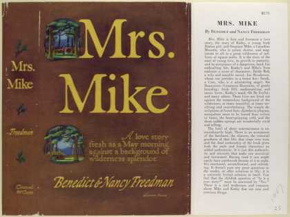 Dust Jackets - Mrs. Mike, by Benedict an