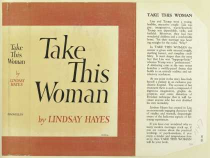 Dust Jackets - Take this Woman, by Linds