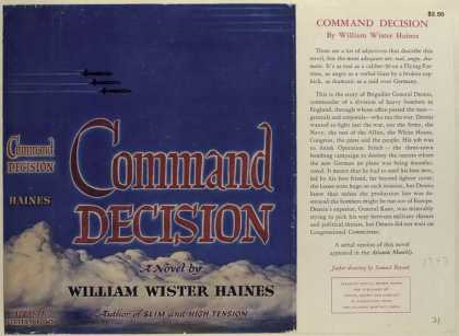 Dust Jackets - Command Decision, by Will