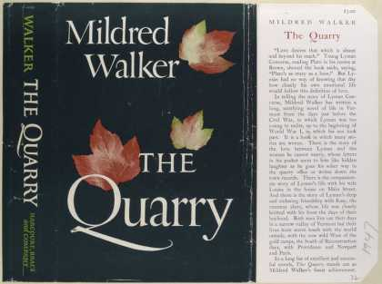 Dust Jackets - The Quarry, by Mildred Wa