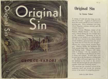 Dust Jackets - Original Sin, by George T
