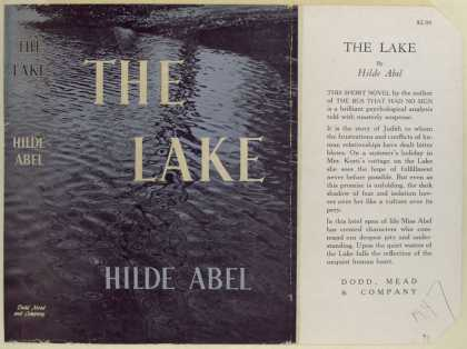 Dust Jackets - The Lake, by Hilde Abel.