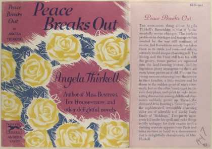 Dust Jackets - Peace Breaks Out, by Ange