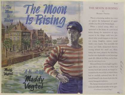 Dust Jackets - The Moon Rising, by Mady