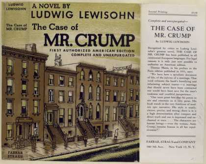 Dust Jackets - The Case of Mr. Crump, by