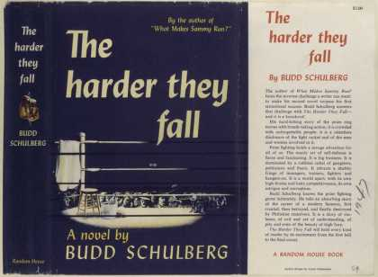 Dust Jackets - The harder they fall, by