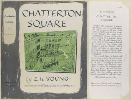 Dust Jackets - Chatterton Square, by E.