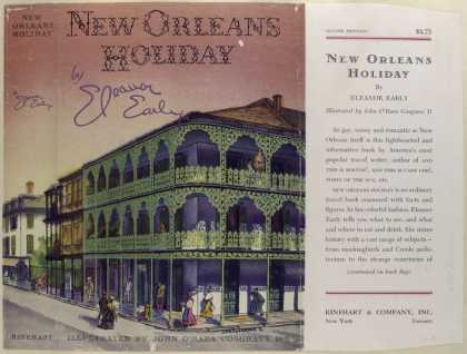 Dust Jackets - New Orleans Holiday, by E