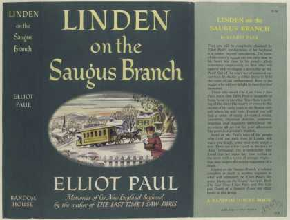 Dust Jackets - Linden on the Saugus Bran
