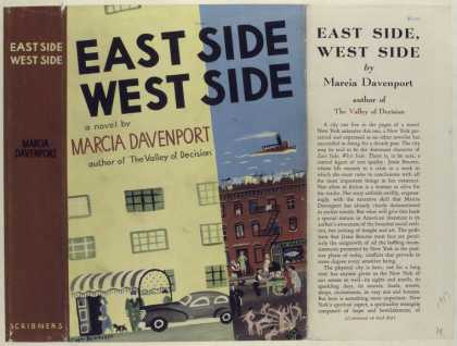 Dust Jackets - East Side, West Side, by
