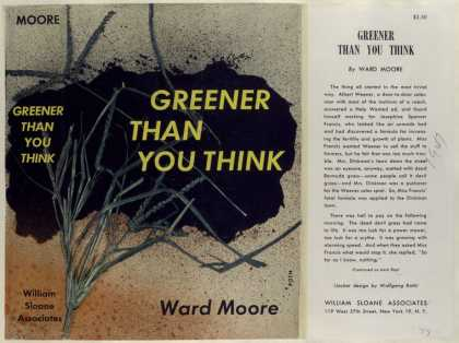 Dust Jackets - Greener than you think, b