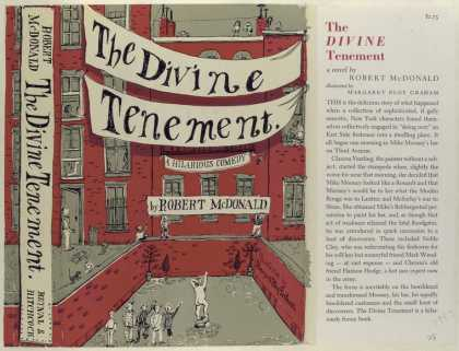 Dust Jackets - The Divine Tenement, by R