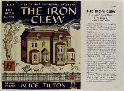 Dust Jackets - The Iron Clew, by Alice T