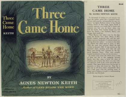 Dust Jackets - Three Came Home, by Agnes