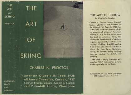 Dust Jackets - The art of skiing.