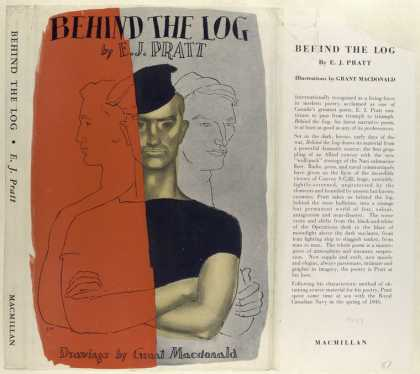 Dust Jackets - Behind the Log, by E. J.