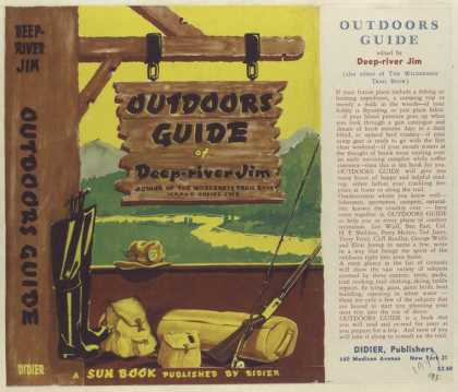 Dust Jackets - Outdoors Guide, Edited by