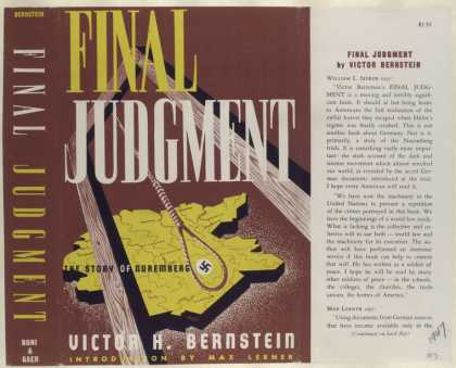 Dust Jackets - Final Judgement, by Victo