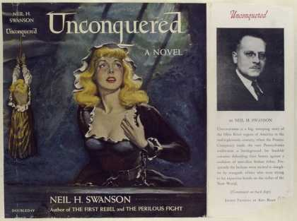 Dust Jackets - Unconquered, by Neil H. S
