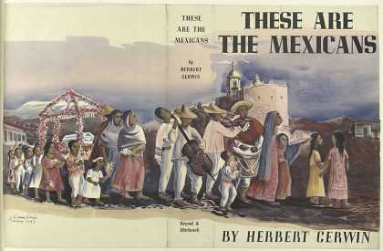 Dust Jackets - These are the Mexicans, b