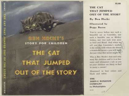 Dust Jackets - The Cat that jumped out o