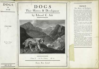Dust Jackets - Dogs: their history and d