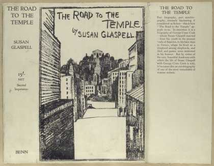 Dust Jackets - The road to the temple.