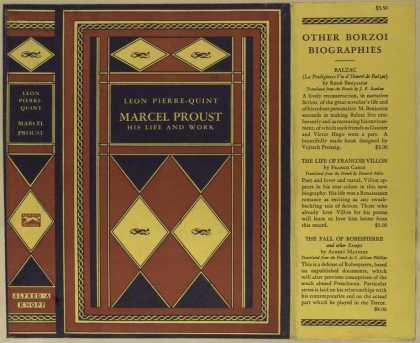 Dust Jackets - Marcel Proust, his life a