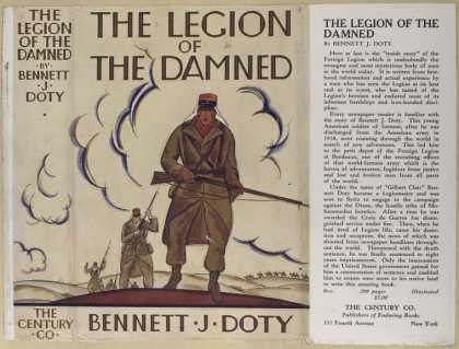 Dust Jackets - The legion of the damned.