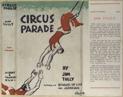 Dust Jackets - Circus parade.