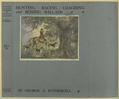 Dust Jackets - Hunting, racing, coaching