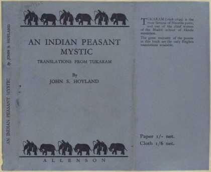 Dust Jackets - An Indian peasant mystic,